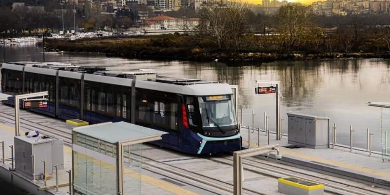 Avikon Eminönü Alibeyköy tramvay hattı trafik kontrol izleme ve yolcu bilgilendirme sistemi