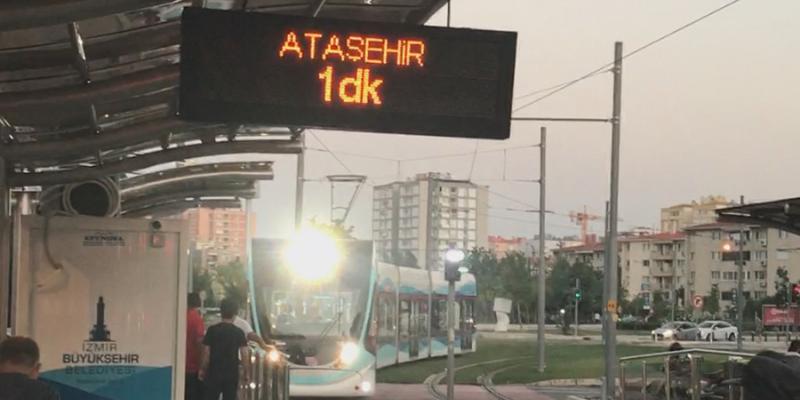 İzmir Karşıyaka ve Konak Tramvayı Tren Takip, Yolcu ve Sürücü Bilgilendirme Sistemleri